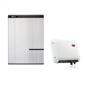 RESU 10H + SMA 2.5 Sunny Boy Storage inverter Package